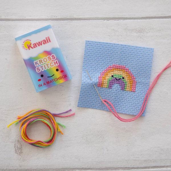 Rainbow Cross Stitch Patterns & Kits