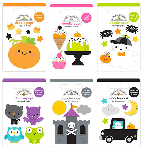 Kawaii Halloween Stickers