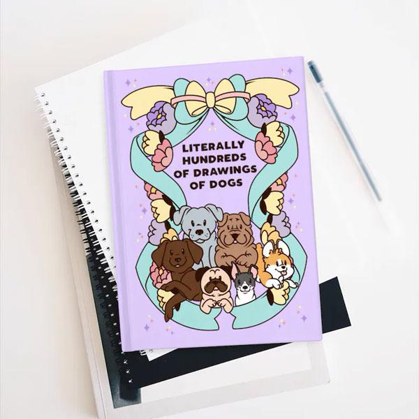 Kawaii Dogs notebook