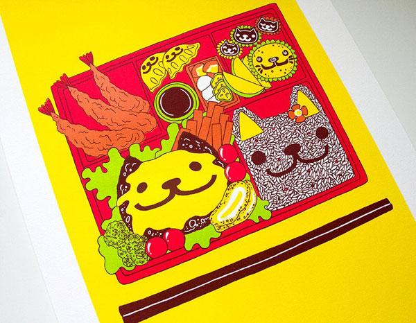 Original Cute Wall Art - screen prints