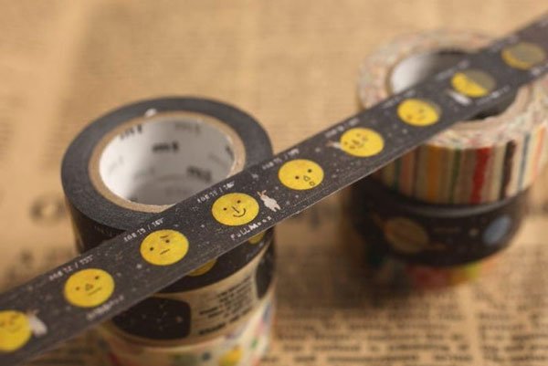 Kawaii Moon washi tape
