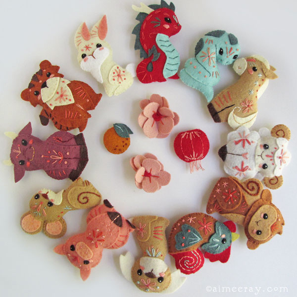 Year of the Pig chinese zodiac Crafts sewing patterns