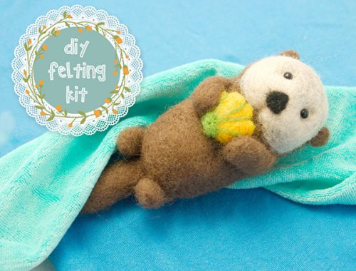 sea otter craft kit