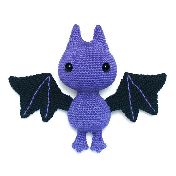 kawaii halloween bat crochet