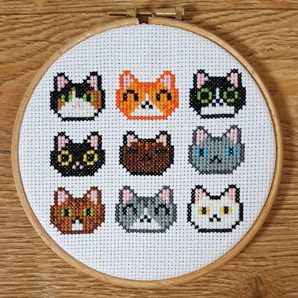 Cute Cross Stitch Patterns Supplies Super Cute Kawaii Classy Stitch Patterns