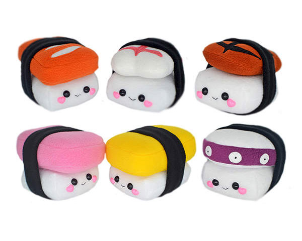 kawaii sushi plush