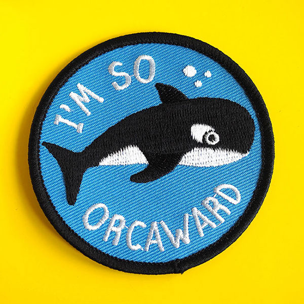 93a06362b4 ... DODO s ever-growing range of iron-on patches. They re perfect for  brightening up a denim jacket or backpack and the puns are so silly that  you have to ...