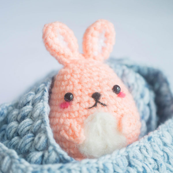 Easter Bunny DIY Craft Kits amigurumi crochet