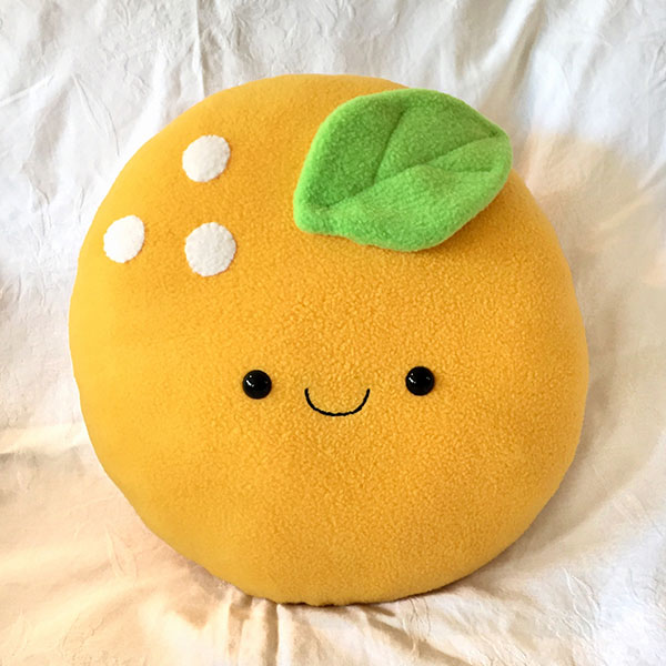 kawaii fruit cushion