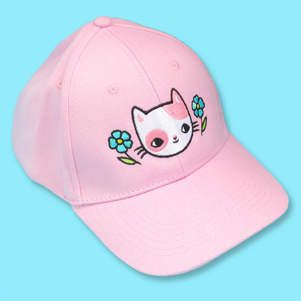 kawaii cat baseball cap