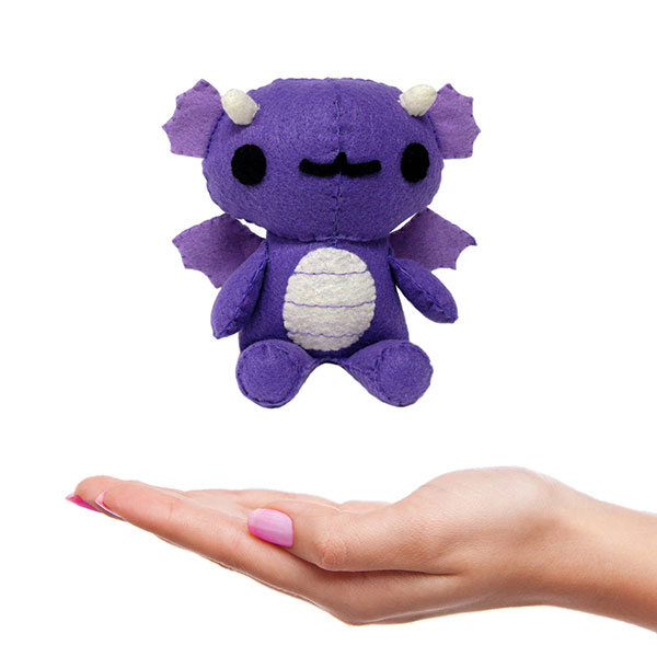 Chebeto mini plush sewing pattern