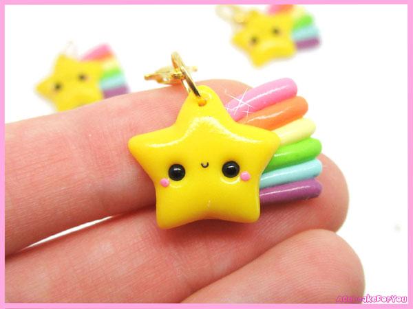 Star kawaii keychain