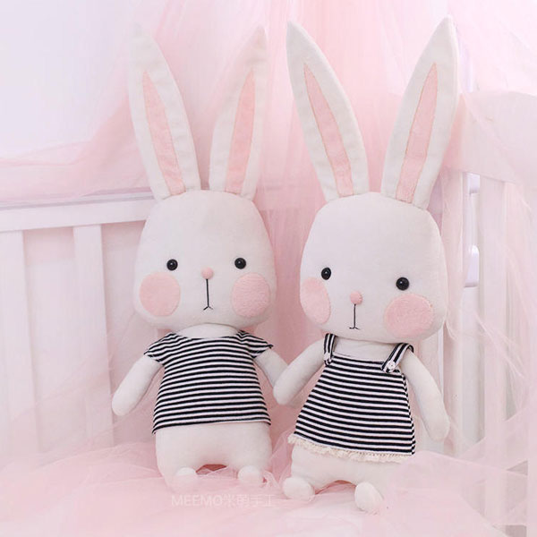 Easter Bunny DIY Craft Kits plush sewing