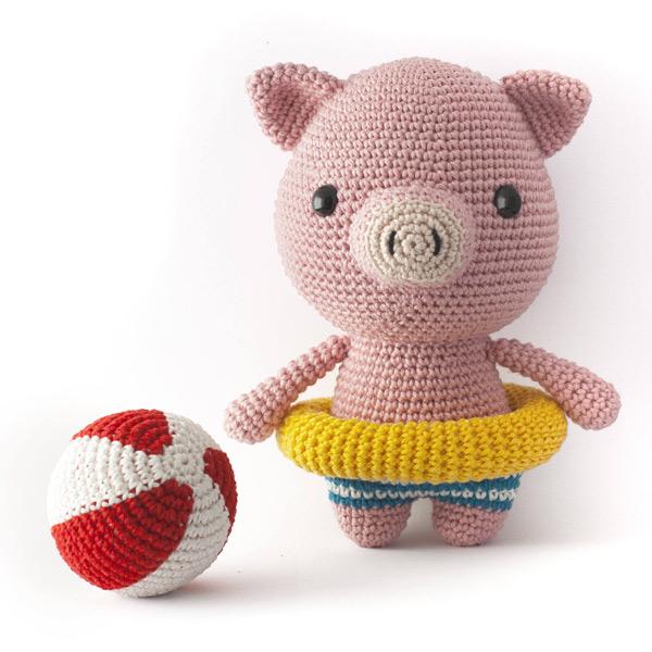 kawaii amigurumi crochet pattern pig