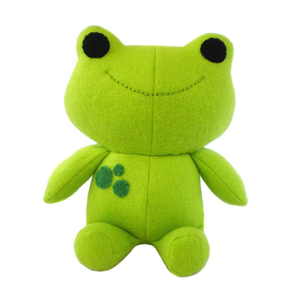 kawaii frog plush sewing pattern