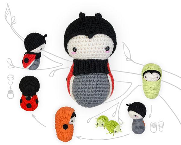 PAUL the toadstool • lalylala crochet pattern / amigurumi ... | 480x600
