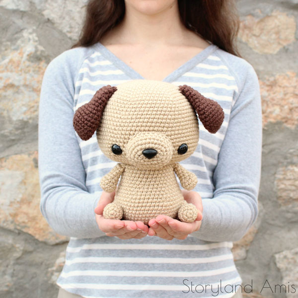 Year of the Dog Crafts - amigurumi crochet pattern