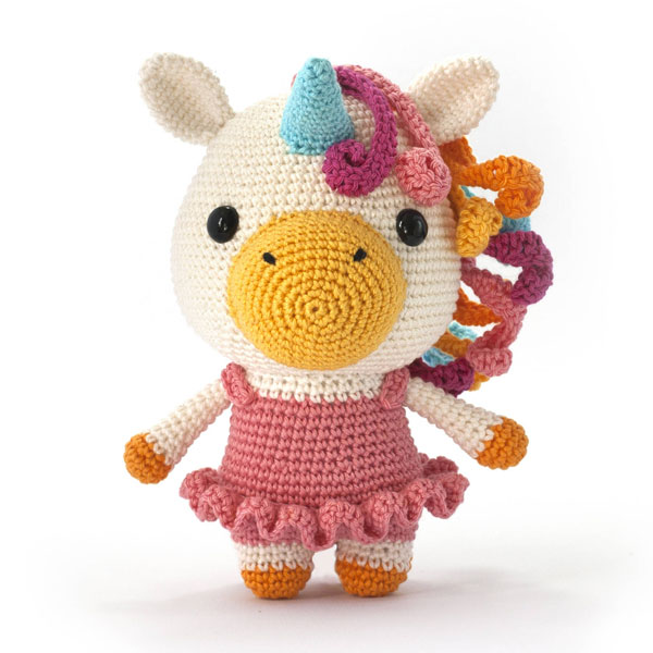 kawaii unicorn amigurumi crochet pattern