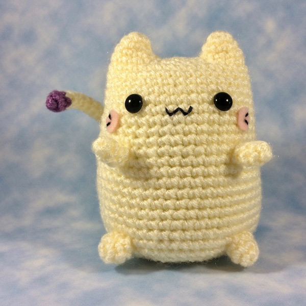 kawaii kitten cat crochet pattern