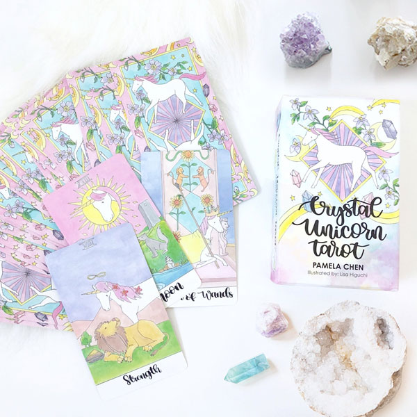 kawaii unicorn tarot cards