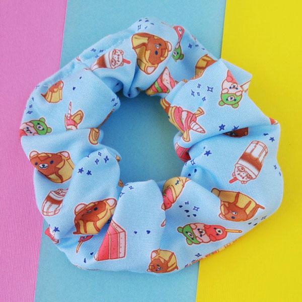 Cute Hair Accessories - kawaii scrunchie