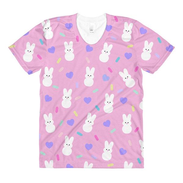 kawaii bunny peeps tshirt