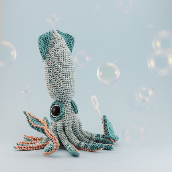 Kawaii squid Amigurumi Patterns