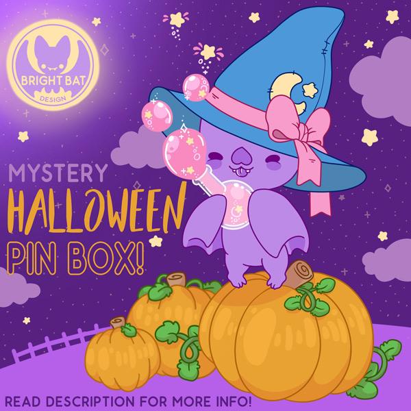 Spooky Cute Halloween kawaii enamel pins