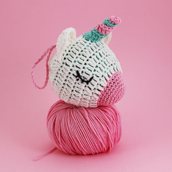 Kawaii unicorn string bag Amigurumi Patterns