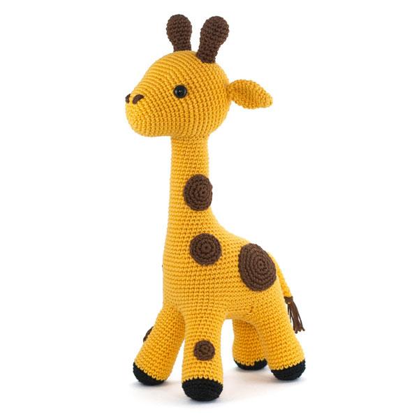 kawaii giraffe amigurumi crochet pattern