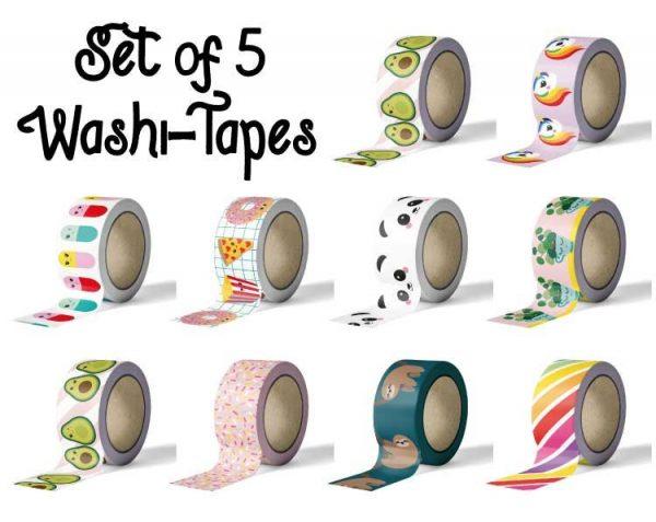 kawaii washi tapes