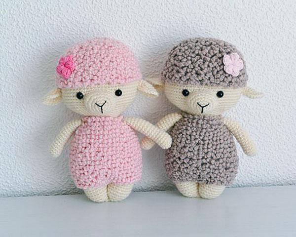 amigurumi crochet sheep DIYs