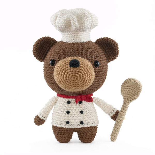 kawaii bear amigurumi crochet pattern