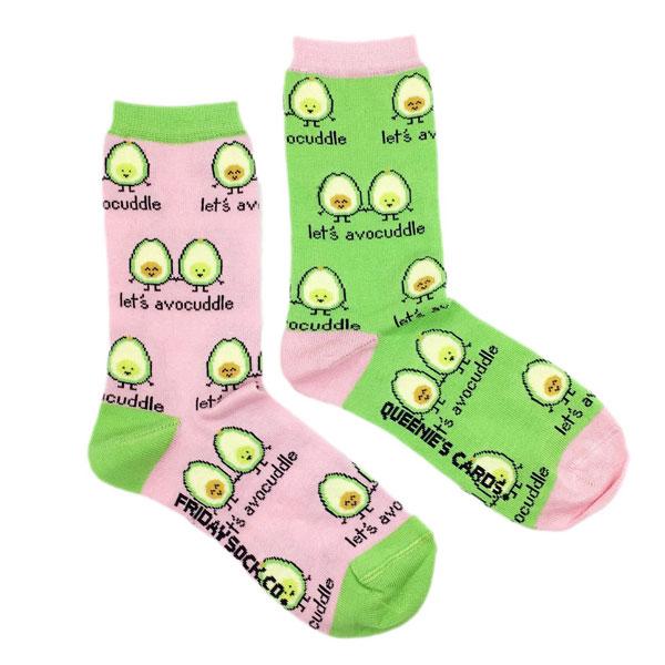 Let's Avocuddle socks