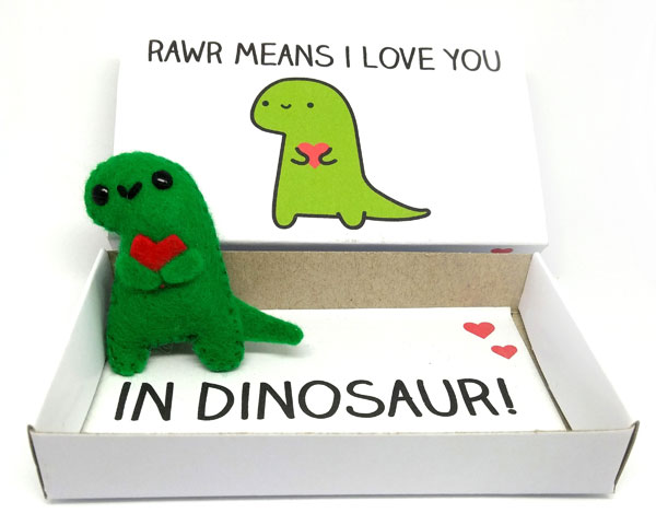 Cute Mother's Day dinosaur gift