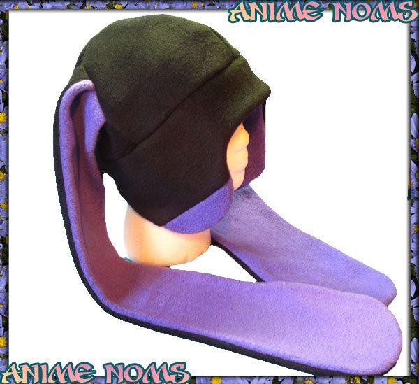 Ultra Violet bunny hat