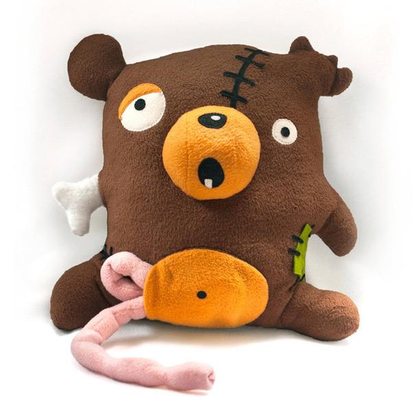 kawaii zombie teddy bear sewing pattern