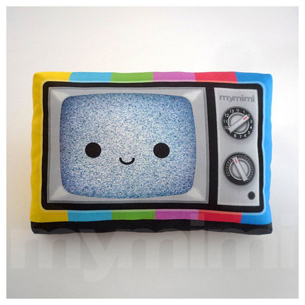 kawaii plush television
