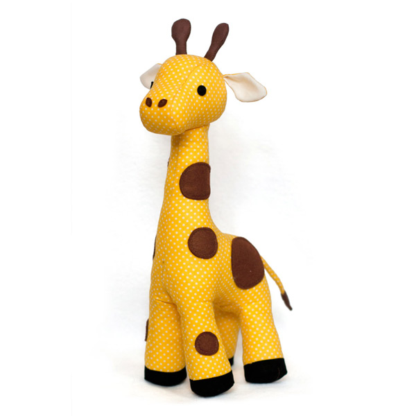 kawaii giraffe sewing pattern