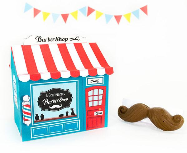 Little Luxuries Loft printable barber shop