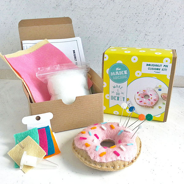 donut pincushion kit