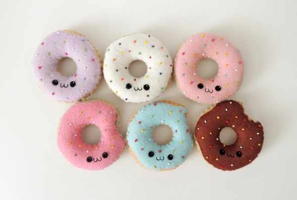 Cute Doughnuts Super Cute Kawaii