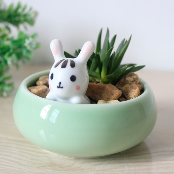 cute animal planters super cute kawaii