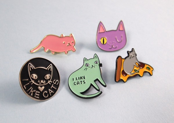 High Quality I Like Cats Just Added A Whole Pile Of Cute Kitty Pins. Which Is Your  Favourite? Iu0027m Torn Between Pink Baby Cat And Pizza Cat.