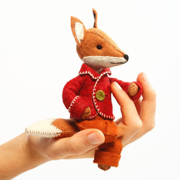 Kawaii Fox Crafts - sewing kit