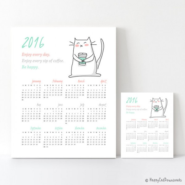 Calendar Head Design : Printable calendars for super cute kawaii