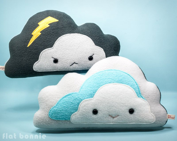 cute and cozy cloud pillows