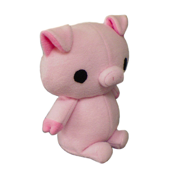 kawaii pig sewing pattern
