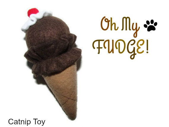 Legendary Pet Toys catnip ice cream cones