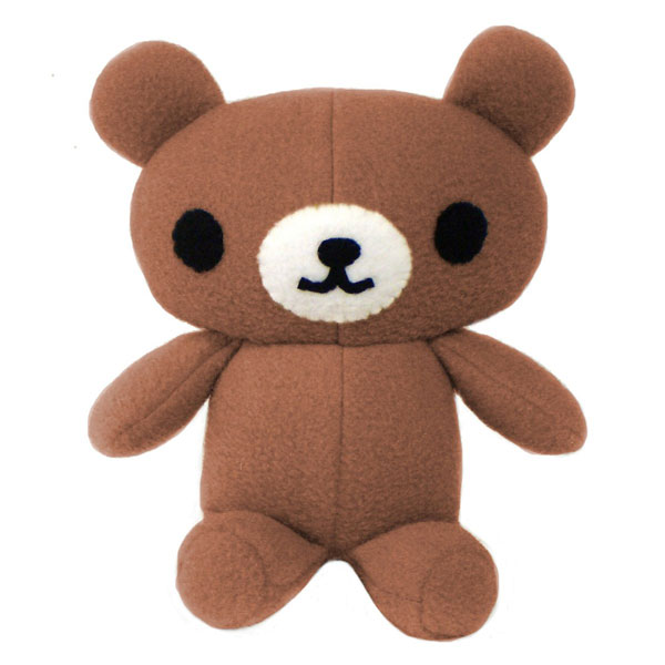 kawaii plush teddy bear sewing pattern